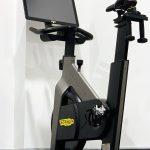 Cyclette con video screen